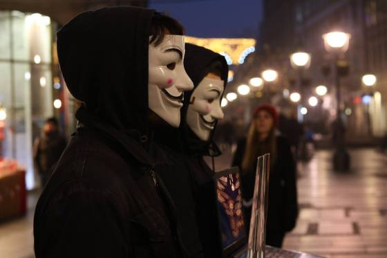 Anonymous for the Voiceless Belgrade, Kocka Istine u Beogradu