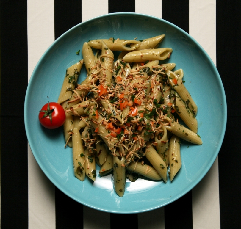 Penne regate recept veganski kuvar